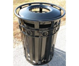 36 Gallon Broadway Trash Receptacle