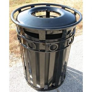 36 Gallon Broadway Trash Receptacle