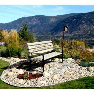 Green Brook Memorial Park Bench