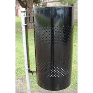 20 Gallon Pole Mountable Trash Receptacle