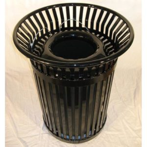36 Gallon Colonial Trash Receptacle with Side Access