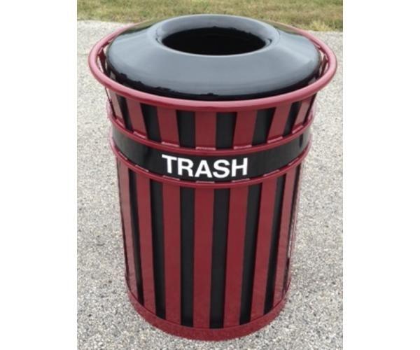 55 Gallon Brookfield Trash Receptacle