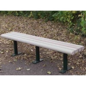 Greenwood Backless Park Bench