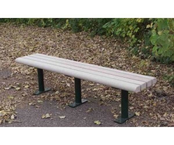 Greenwood Backless Park Bench