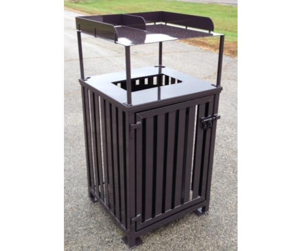 50 gallon Tray Top Trash Receptacle