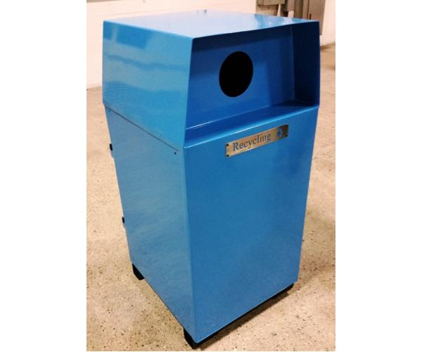 Bear Resistant Modular Trash And Recycling Bins