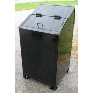 Critter Resistant 50 gallon Trash Receptacle