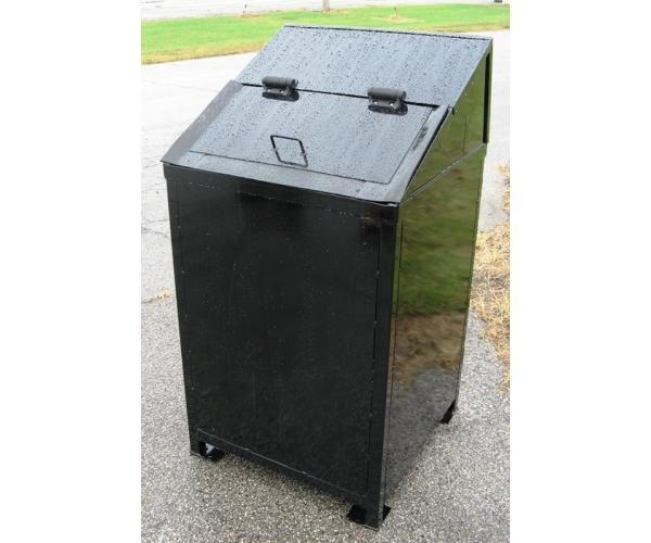Critter Resistant 50 gallon Trash Receptacle