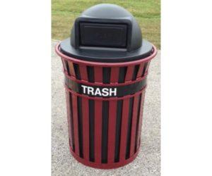Custom Logo Trash Receptacle