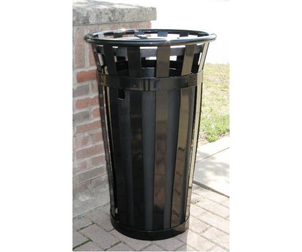 24 Gallon Main Street Trash Receptacle