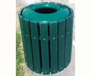 32 or 36 Gallon Trash Receptacle