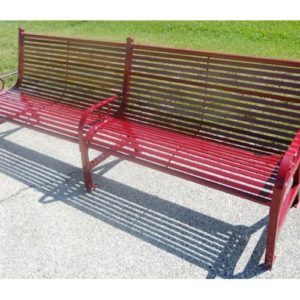 8ft Broadway Series Park Bench