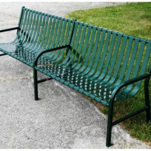 8ft Main Street Series Park Bench