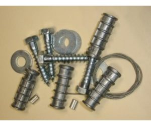 Anchor Kit for Benches and Trash Receptacles