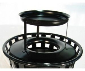 Large Steel Replacement Top with Ash Urn