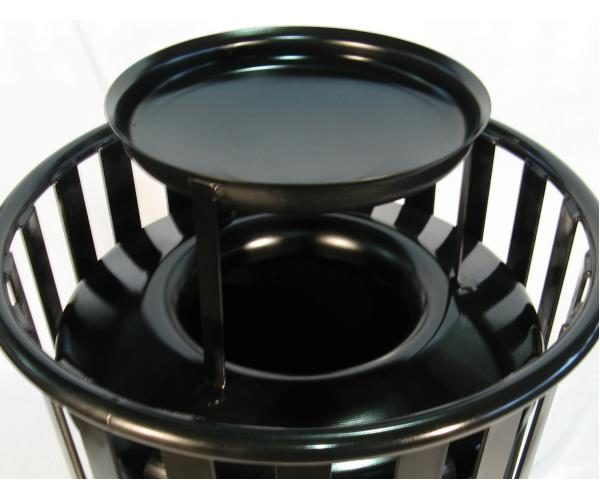 Small Steel Replacement Top with Ash Urn