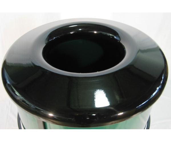 Small Steel Trash Receptacle Replacement Top