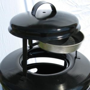 Large Steel Replacement Top with Removable Ash Urn